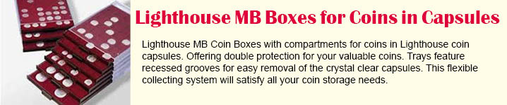 LIGHTHOUSE COIN BOX MB CAPS 38