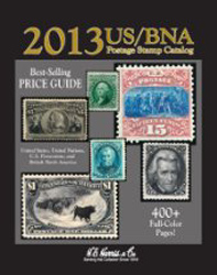 H.E. Harris 2013 US/BNA Stamp Catalog