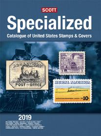 Scott US Specialized Stamp Catalog 2019