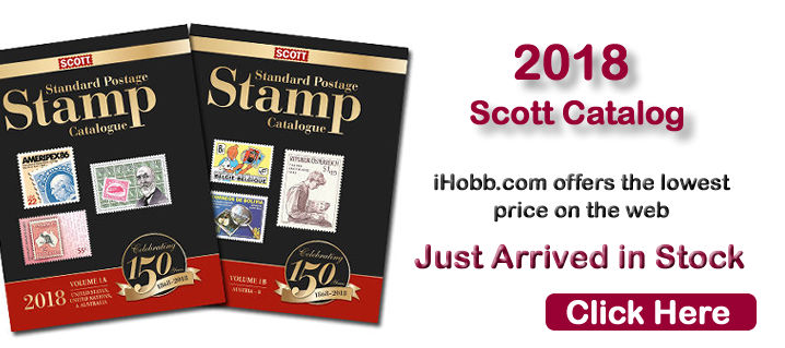 Scott 2018 Postage Stamp Catalog